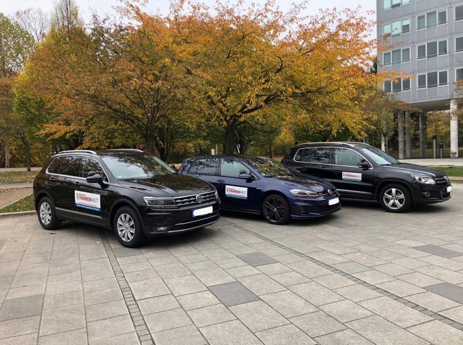 Fahrschule Fahrenheit - Schulungsfahrzeug Führerscheinprüfung Gebiet Eimsbüttel, Lokstedt, Stellingen, Gross Borstel und Eppendorf